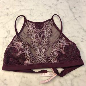 Victoria Secret bralette in burgundy NWT size S